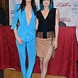 Whose outfit is more revealing: Kendall's or Kylie's?
