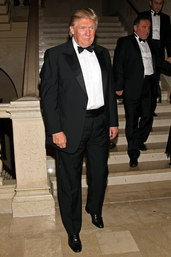 What? Donald Trump even made an appearance at the soiree.
