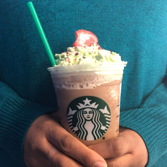 Starbucks Christmas Tree Frappuccino Review