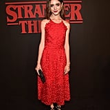 Natalia Dyer at Stranger Things Season 1 Premiere