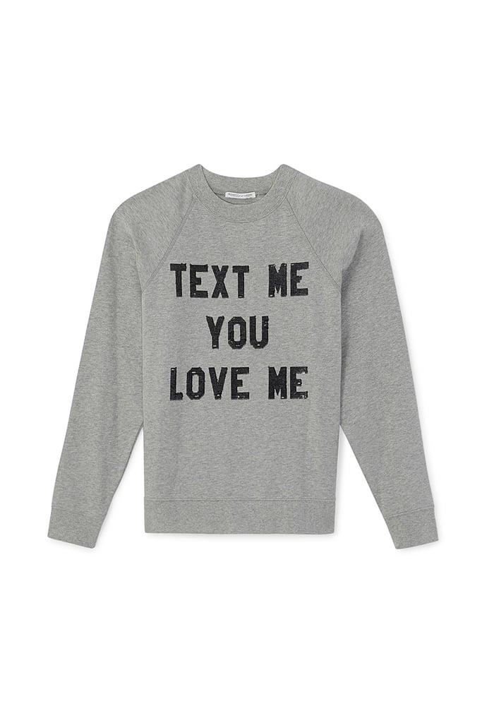 Sweatshirt With Sequins ($108)