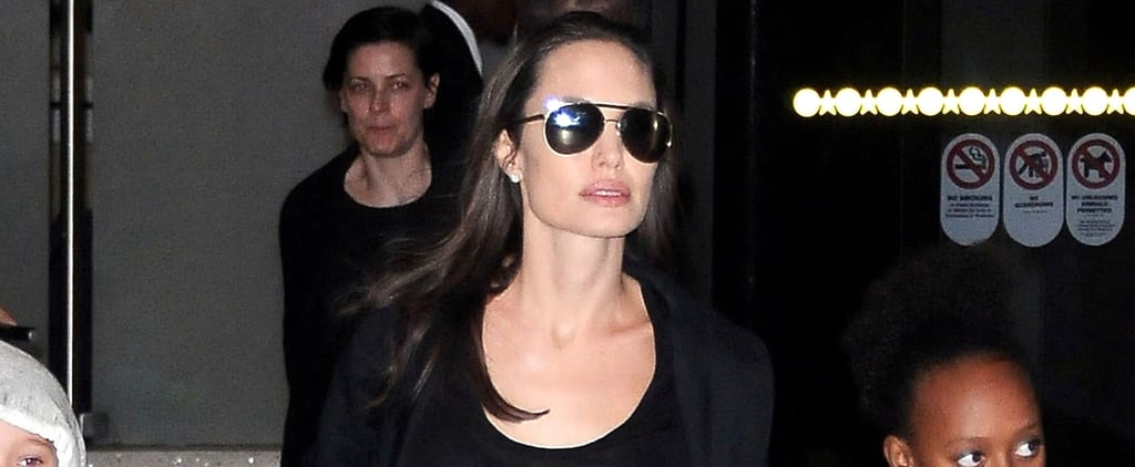 Angelina Jolie's Carry-On Bag of Choice Is a Fashion-Girl Classic