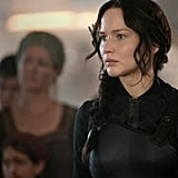 Lawrence as Katniss, aka the Mockingjay.
