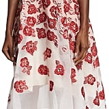 Lela Rose Floral-Embroidered Halter-Neck Dress, Pink ($2,495)