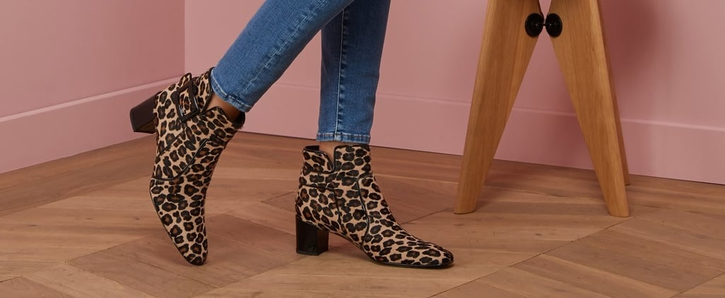 Purr Your Way Through Autumn in Leopard-Print Ankle Boots