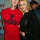 Travis Barker and Shanna Moakler, 2002