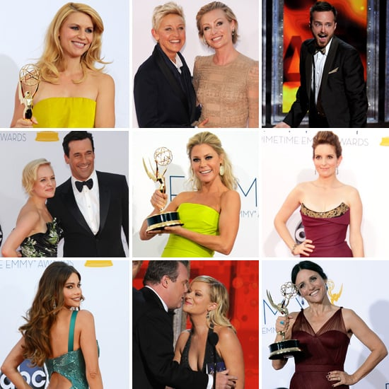 2012 Emmy Award Pictures: Red Carpet, Show, Backstage