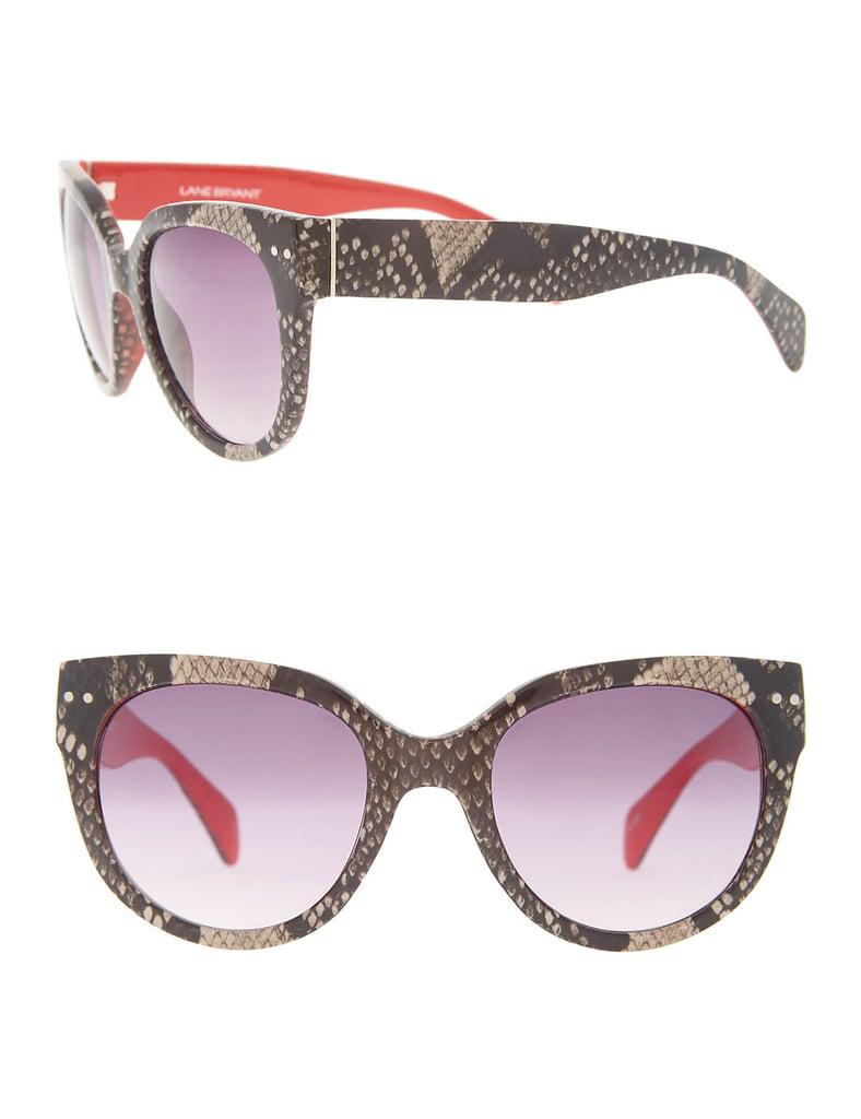 Lane Bryant Snake Sunglasses