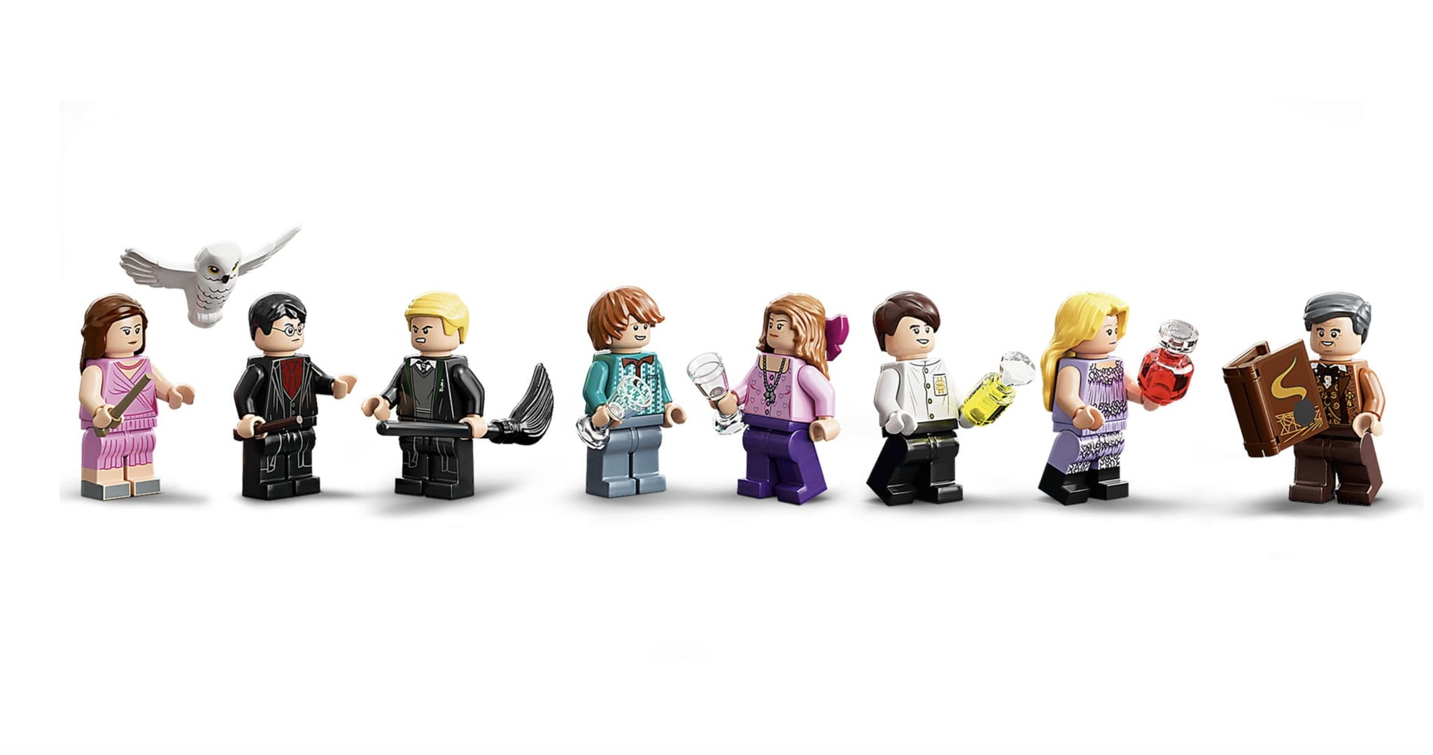 The Minifigures In The Lego Harry Potter Hogwarts Astronomy Tower New Lego Harry Potter Sets 2020 Popsugar Uk Parenting Photo 7