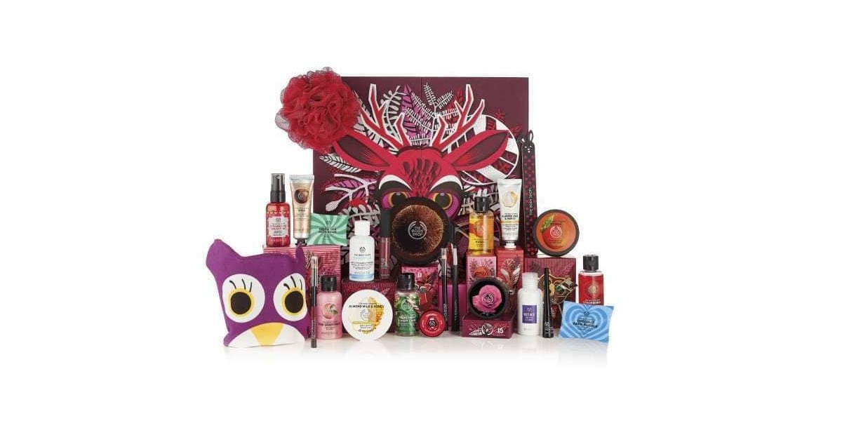 the body shop 25 days of the enchanted deluxe advent. Black Bedroom Furniture Sets. Home Design Ideas