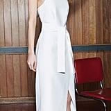 C/MEO Collective Stand Still Dress in White ($163, originally $219)