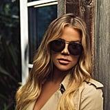 5aad06ebf006 Video Khloe Kardashian Sunglasses Collection ...
