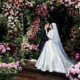 Miranda's Stunning Dior Wedding Dress Was Inspired by Grace Kelly