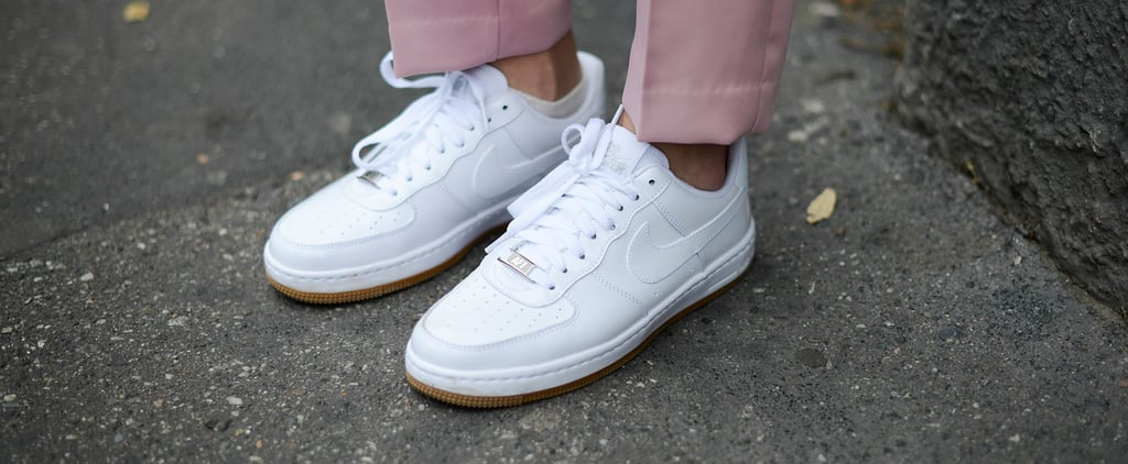 Pink Suede Nike Air Force Ones