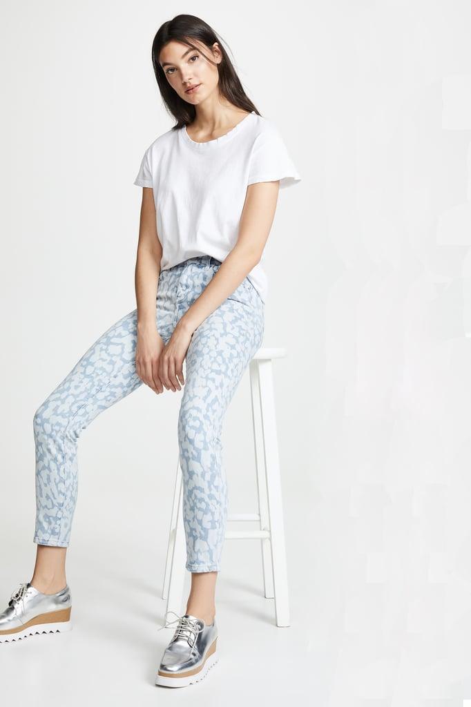 Current/Elliott The High-Waist Stiletto Jeans