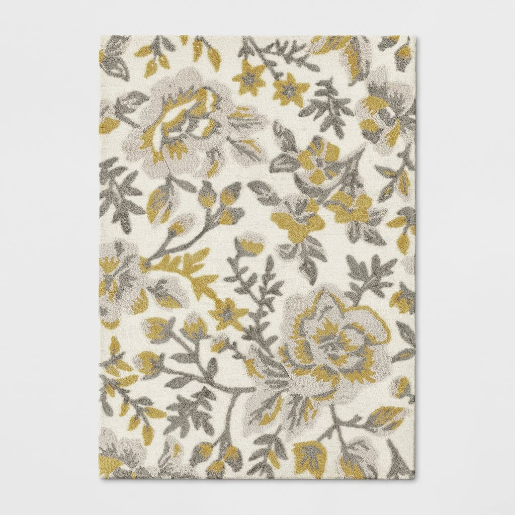 Floral Tufted Area Rug