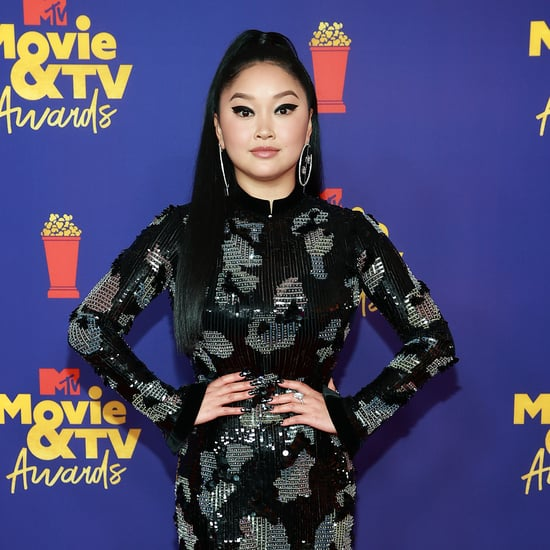Lana Condor Wears Giorgio Armani to MTV Movie and TV Awards