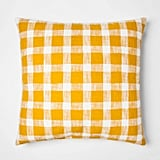 Get the Look: Oversize Square Gingham Pillow
