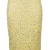 A sexy pencil skirt shape contrasted with a more traditional embroidery print. Dolce & Gabbana Embroidered Pencil Skirt ($734)