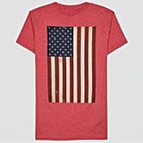 Men's Americana Flag Short Sleeve Graphic T-Shirt