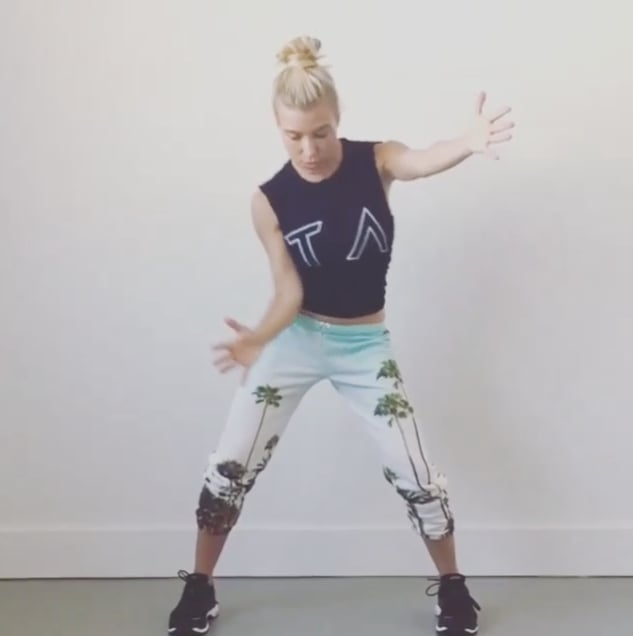 Tracy Andersons Arm Workout Video On Goop
