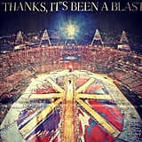 Newspapers around the globe highlighted the closing ceremonies. Source: Instagram user gq