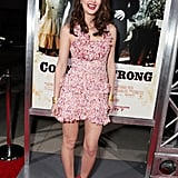 Leighton Meester's Christian Dior confection made me smile — just totally girlie and whimsical.