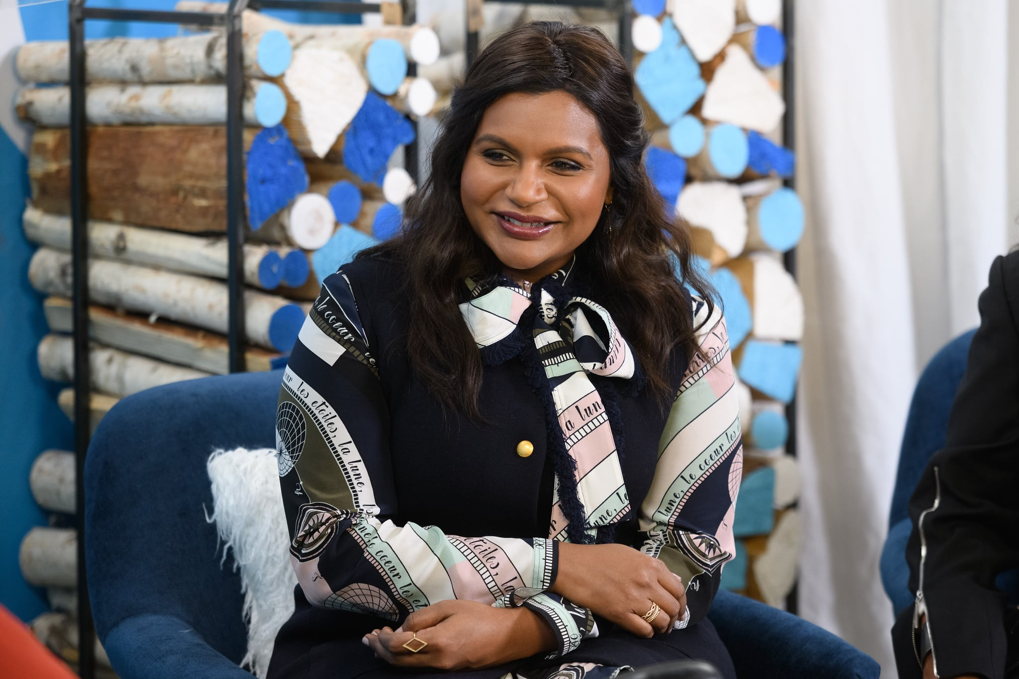 PARK CITY, UT - JANUARY 25:  Mindy Kaling attends The Vulture Spot during Sundance Film Festival on January 25, 2019 in Park City, Utah.  (Photo by Daniel Boczarski/Getty Images for New York Magazine)