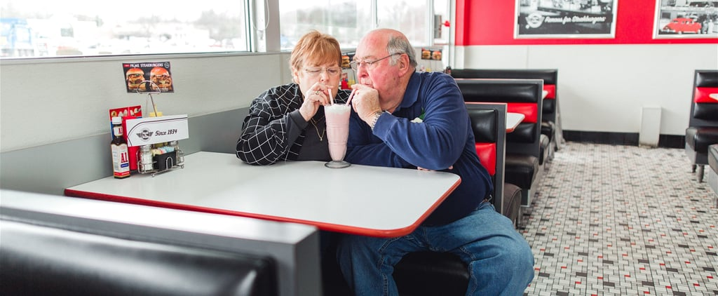 We're Considering Kidnapping These Grandparents Who Celebrated 55 Years of Marriage With a Steak 'n Shake Photo Shoot