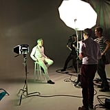 Baz Luhrmann posed for The Hollywood Reporter. Source: Instagram user hollywoodreporter