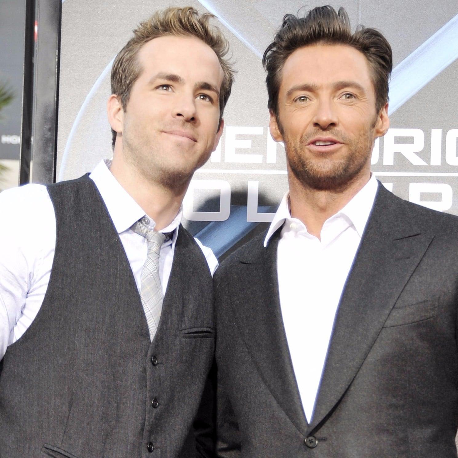 Hugh Jackman's Video About Ryan Reynolds's Walk of Fame Star ...