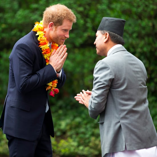Prince Harry at the Embassy of Nepal in London March 2017