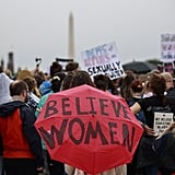 Protesters gather in Washington DC.