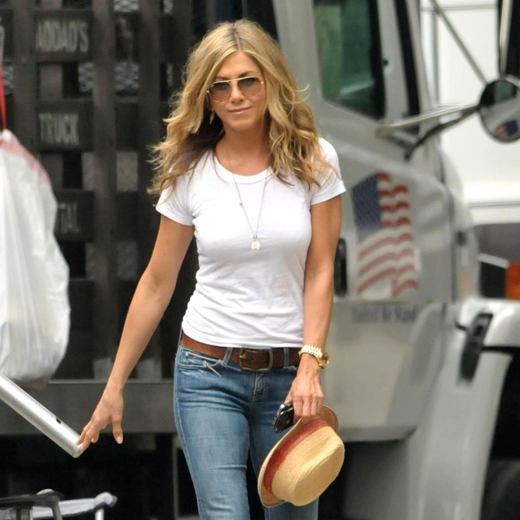 Jennifer Aniston S Street Style Popsugar Fashion