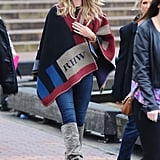 Rosie Huntington-Whiteley looked like she was walking straight out of a magazine cover when she took a stroll in Sydney, Australia, on Tuesday.
