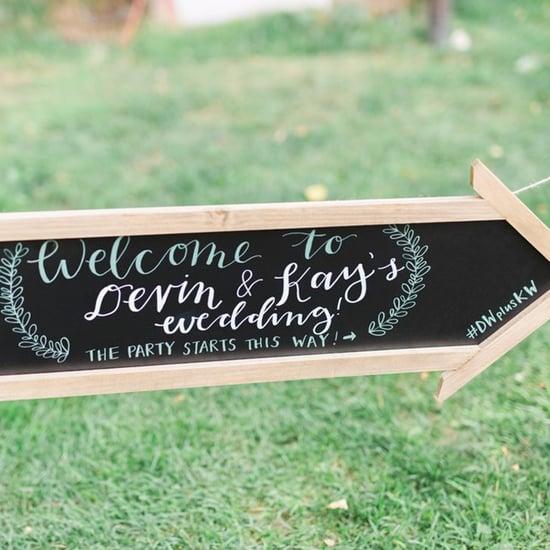 How to Create a Wedding Hashtag