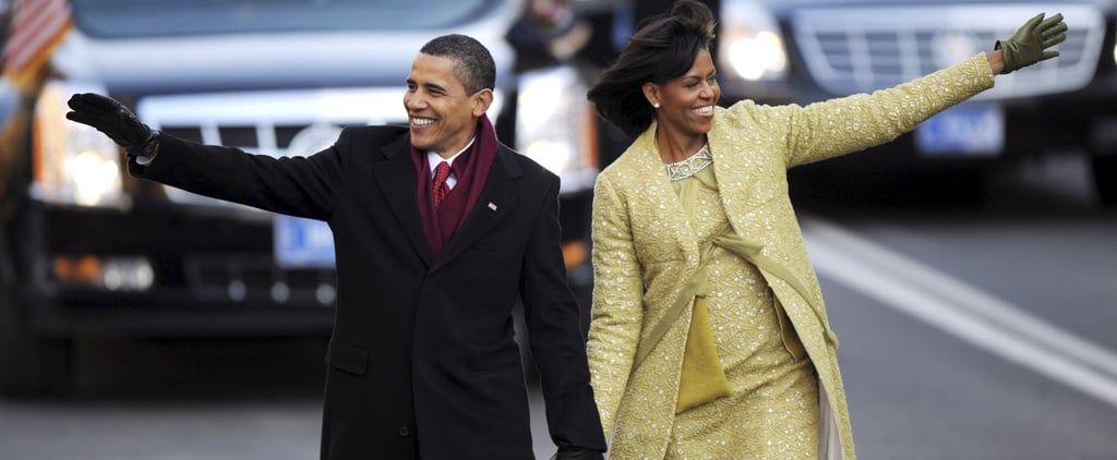 See What First Ladies Wore For Inauguration Day