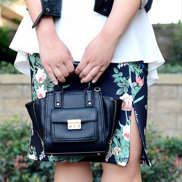Play With Proportions and Balance a Structured Skirt With Ladylike Ruffles