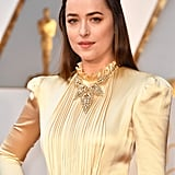 Dakota Johnson on the Red Carpet at the 2017 Oscars