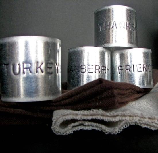 Thanksgiving Napkin Rings ($30 For 6)