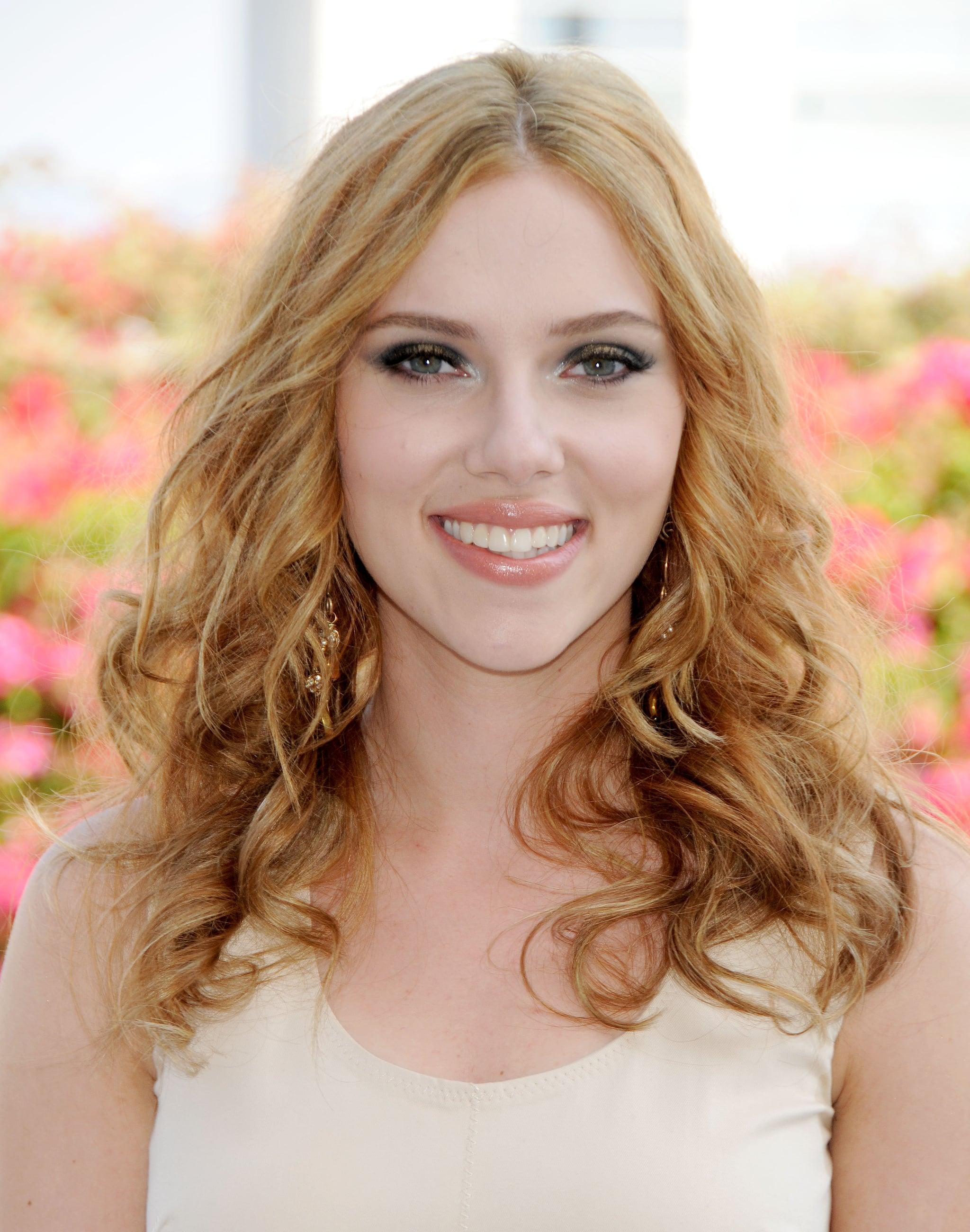 What Is Scarlett Johansson S Natural Hair Color Popsugar Beauty