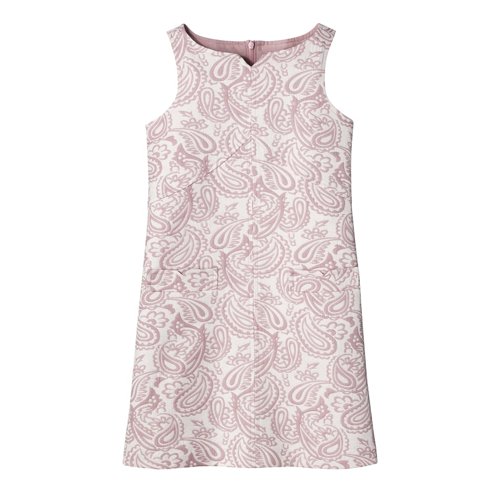 Girls' Blush Floral Jacquard Shift Dress ($28)