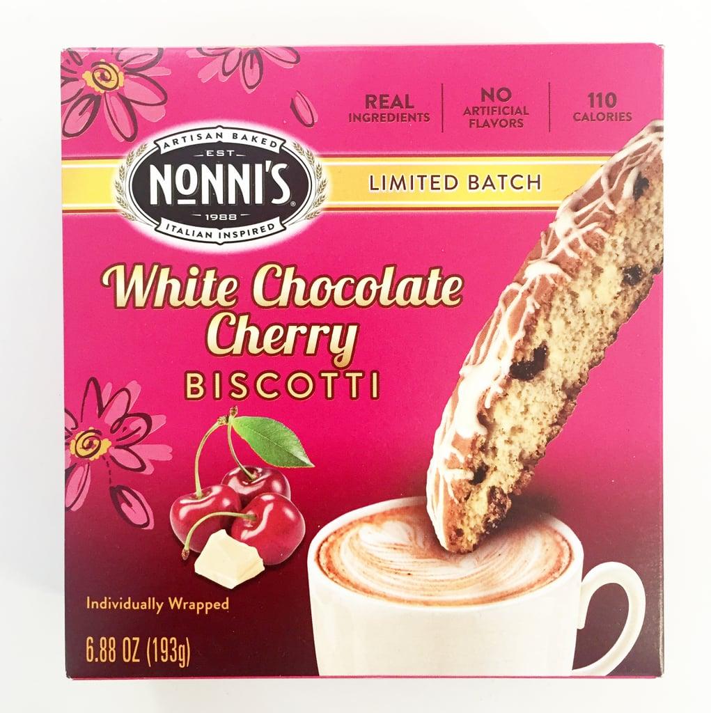 Nonni's White Chocolate Cherry Biscotti