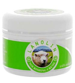 Lanolin in beauty products