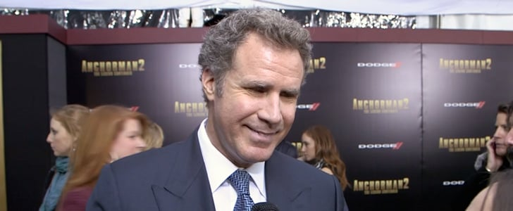 Will Ferrell Interview at Anchorman 2 Premiere | Video
