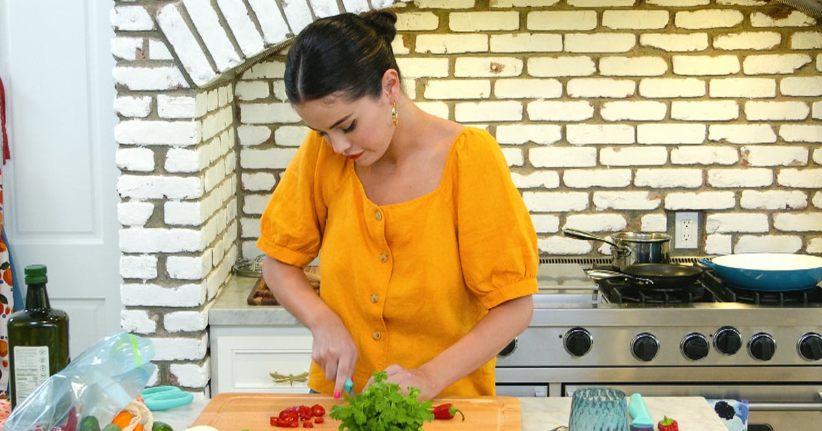 Selena Gomez Is Cooking Up a Feast on Her New Show and Served Up a Cute Blouse on the Side