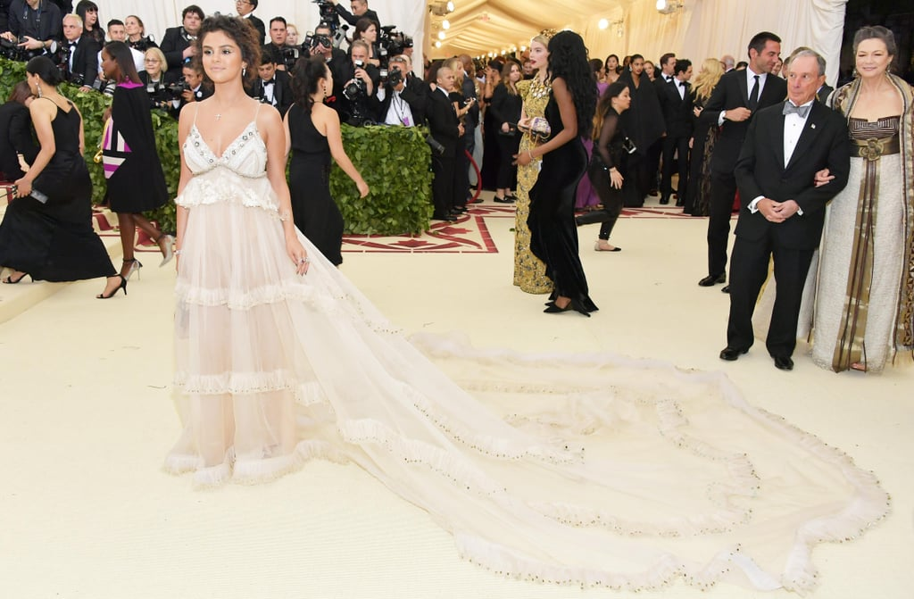 Selena Gomez Coach Dress Met Gala 2018