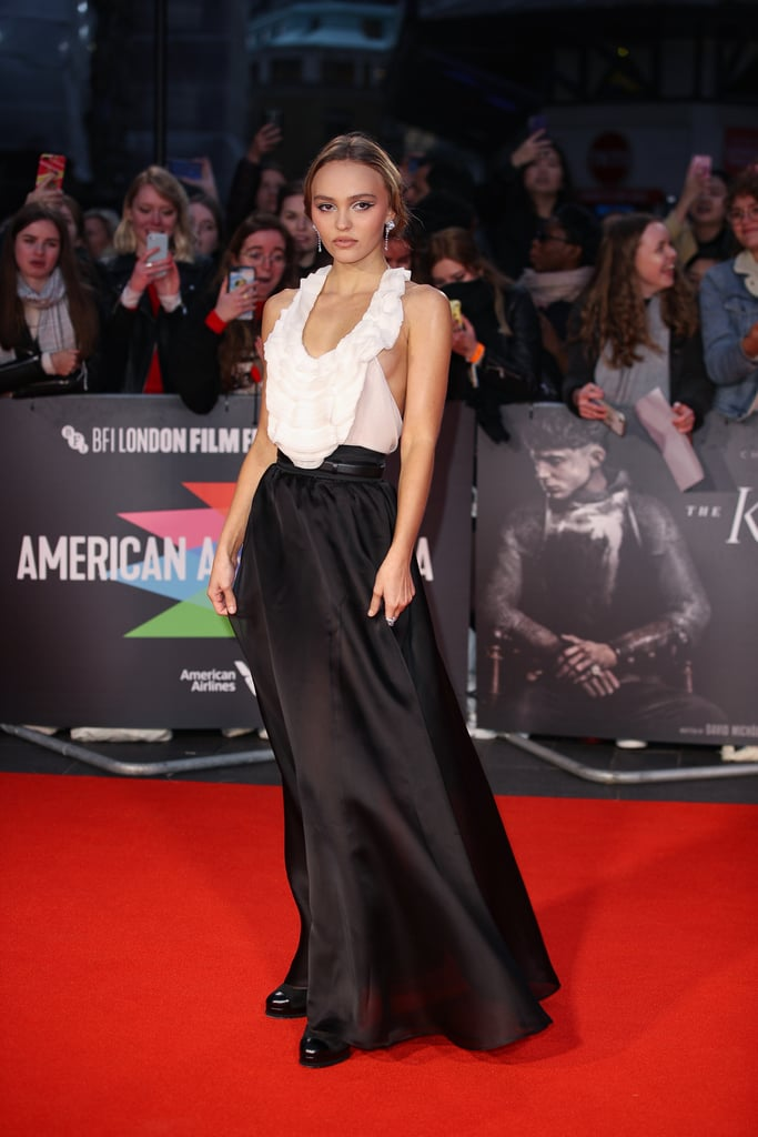 Lily-Rose Depp at the BFI London Film Festival