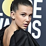 Millie Bobby Brown's Braided Topknot, 2017