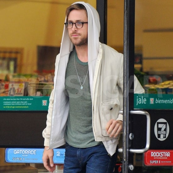 Ryan Gosling Pictures at a LA 7-11